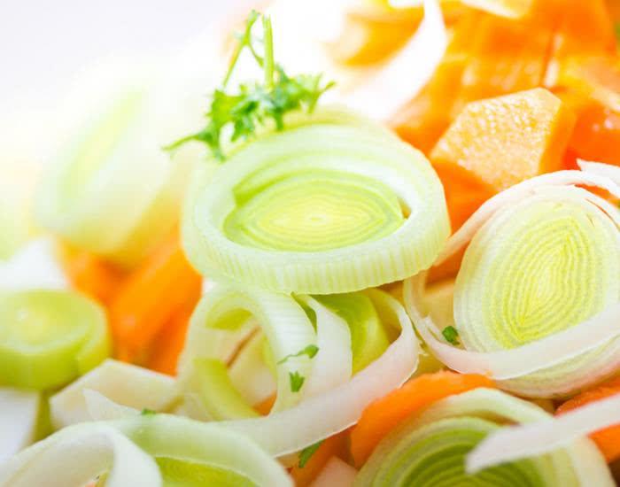 Caldo de verduras al vacío - mychef