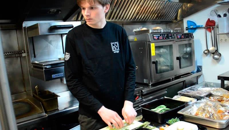 Mychef cocina <span>Historia de éxito de</span> <br>MIGUEL COBO  Mychef   cocina