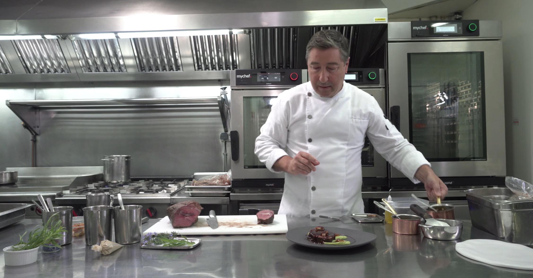 Mychef mychef Distform Roca cocina <span>Historia de éxito de</span> <br>JOAN ROCA  Mychef   mychef Distform Roca cocina