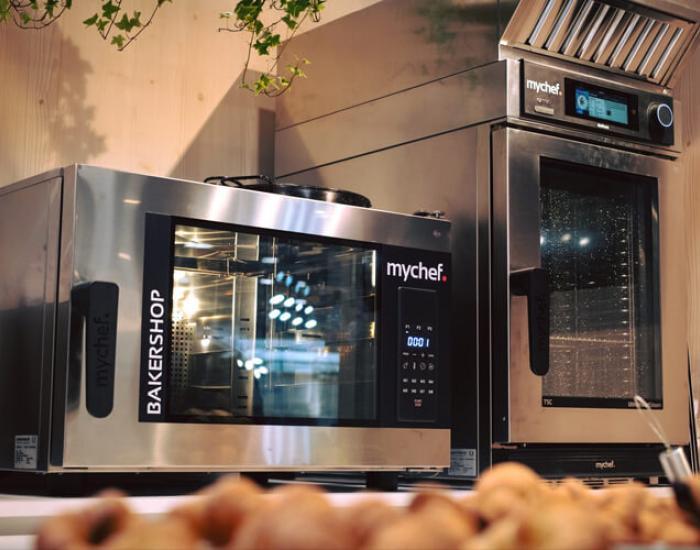 Nueva gama de hornos profesionales y máquinas de envasado al vacío Mychef
