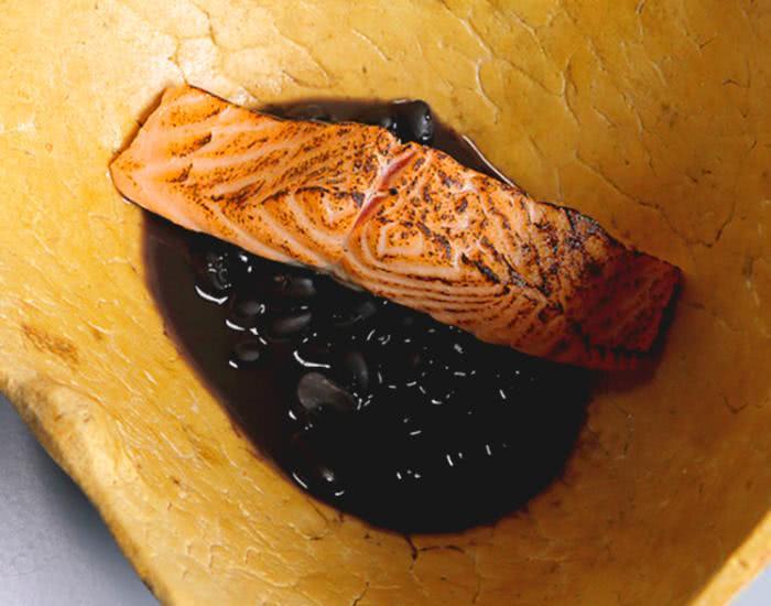 Feijoada de salmón ahumado - mychef