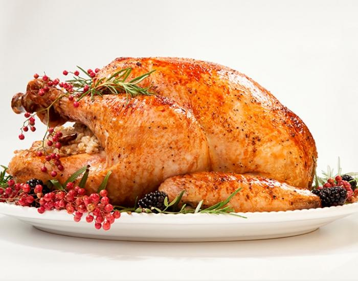 Christmas turkey with forest fruits - mychef