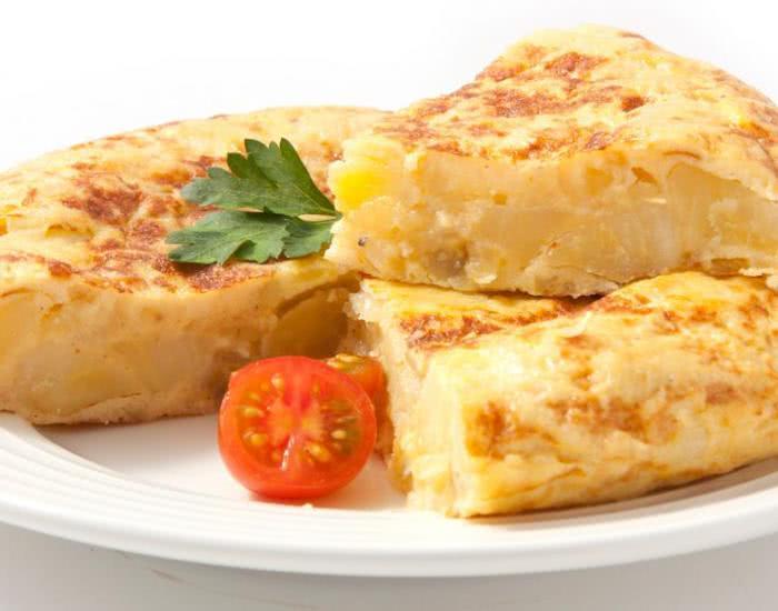 Baked potato omelette  - mychef